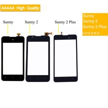 10Pcs/lot For Wiko Sunny 1 /Sunny 2/Sunny 2 Plus Touch Screen Panel Sensor Digitizer Front Glass Touchscreen Sunny2