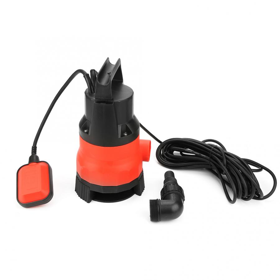 400W Electric Submersible Pump For Clean Dirty Flood Water EU Plug 220V Heave Duty Pump