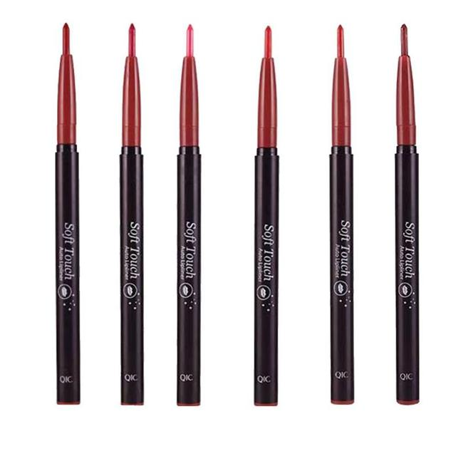 QIC Automatic Rotary Long-lasting Waterproof Lip Liner Pen Lipstick Pencil