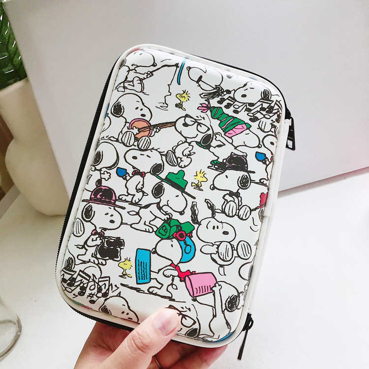 SIXONE Cartoon Characters With Simple Strokes Rogue dog Large Capacity Student Pen Box Pencil case school stationery