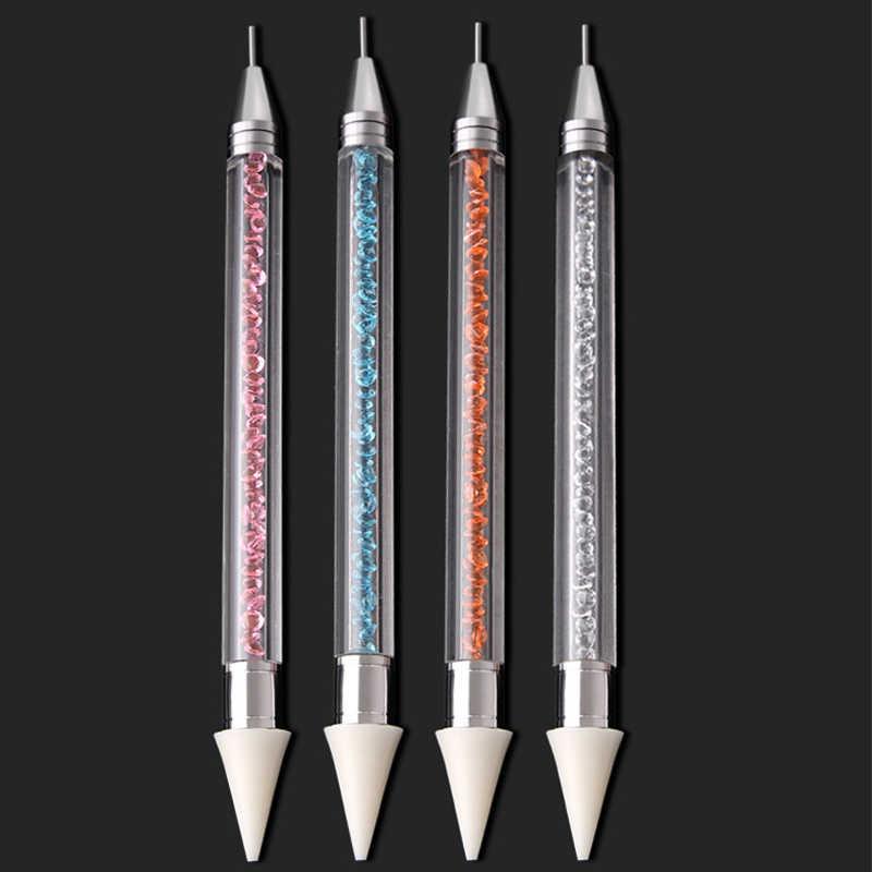 5D DIY алмазная живопись ручка алмазная живопись инструменты точечная ручка аксессуары для вышивки Алмазная мозаичная Полная площадь & круглая