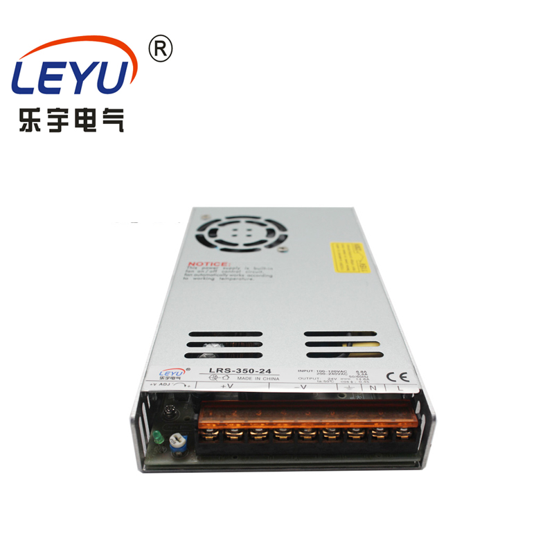 Slim type 220vac 24vdc single output constant voltage 350w 7.3a overload LRS-350-24  led switching mode power supplySlim type 220vac 24vdc single output constant voltage 350w 7.3a overload LRS-350-24  led switching mode power supply