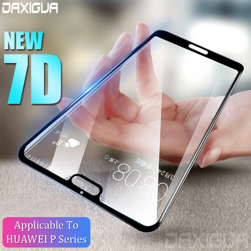 Display Protector Glass For Huawei P20 Lite P20 Professional Full Cowl Protecting Glass On Huawei P20 Lite Nova 3E Tempered Glass Movie