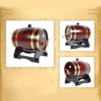 Oak Pine Wine Barrel Storage Special Barrel 1.5L and 3L Storage Bucket Beer Casks P18