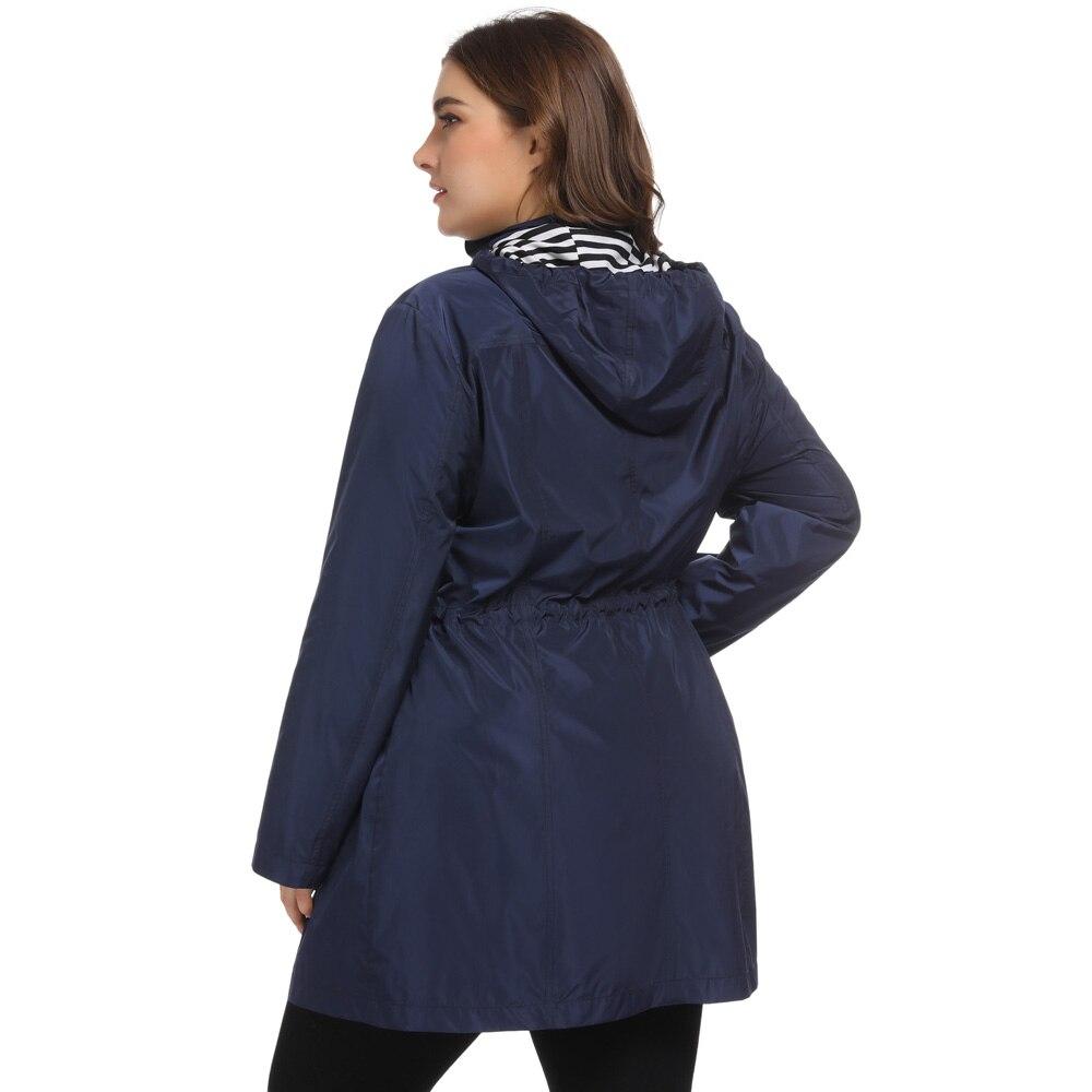 Outwear Capuche Chaud Taille Spéciale Blue navy Femme Pour ~ Veste Grande À Hiver Offre Sweat Black Manteau PxOA8qA