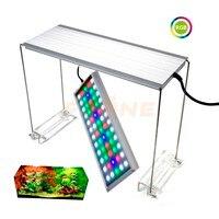 Chihiros RGB аквариумный светодиодный освещение для аквариума с белым синим красным регулируемым цветом крышки приспособление для рыб и резерву...