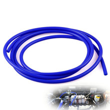 FIFAN New arrive 1Meter Length 3mm Vacuum Silicone Hose Intercooler Coupler Pipe Turbo