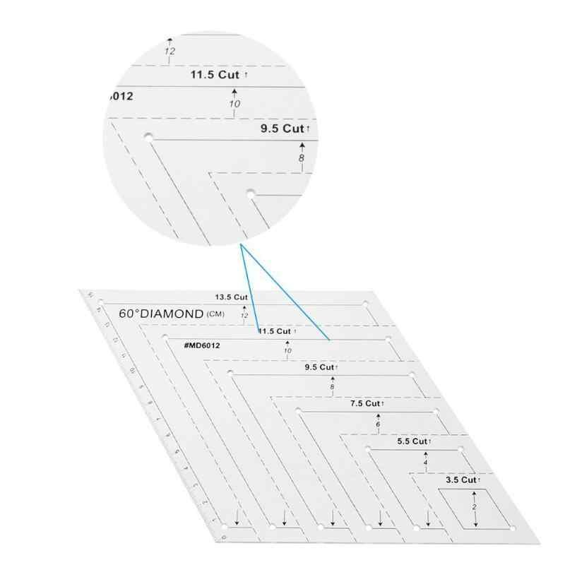 Suministros de Manualidades para Manualidades DIY Suministros de Costura a Medida Liyeehao Regla de Patchwork de Curva de sisa Transparente Regla de Manga Regla de Sastre