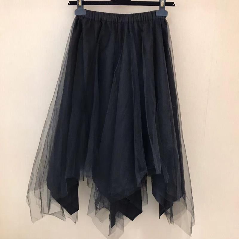 De Moda Falda Faldas Casual Para Imperio Mujeres Línea Floral Jupe 2019 Casuales Elegante IwIXUFa