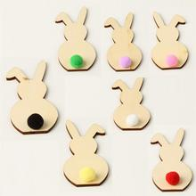 Spring Easter Home Decor DIY Bunny Decoration Holiday Plywood And Decorating Living Room Dining