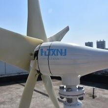 Turbina aerogeneradora horizontal de 600w, 12v, 24v, 48v, con controlador MPPT para uso doméstico