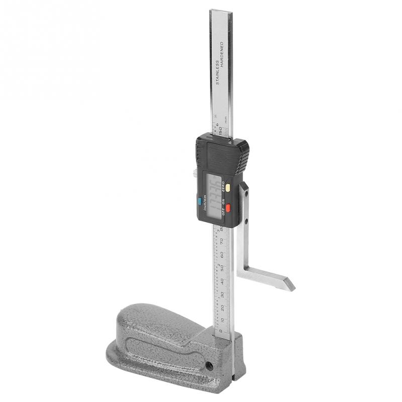 0 01mm Digital Accuracy Height Aperture Depth Gauge with Stainless Steel Base 0 150mm Woodworking Height