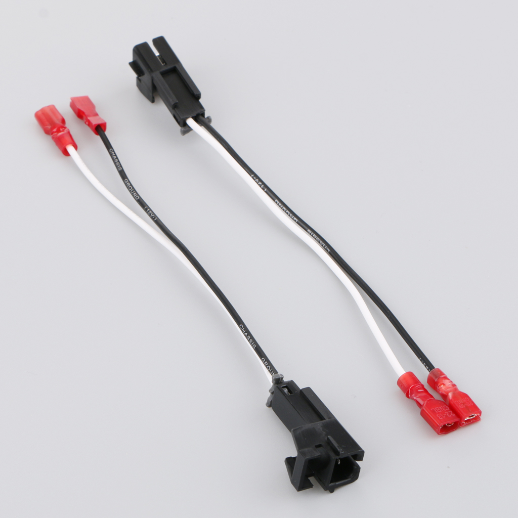hight resolution of 2 pieces car audio speaker wire harness for chevrolet buick hummer suzuki