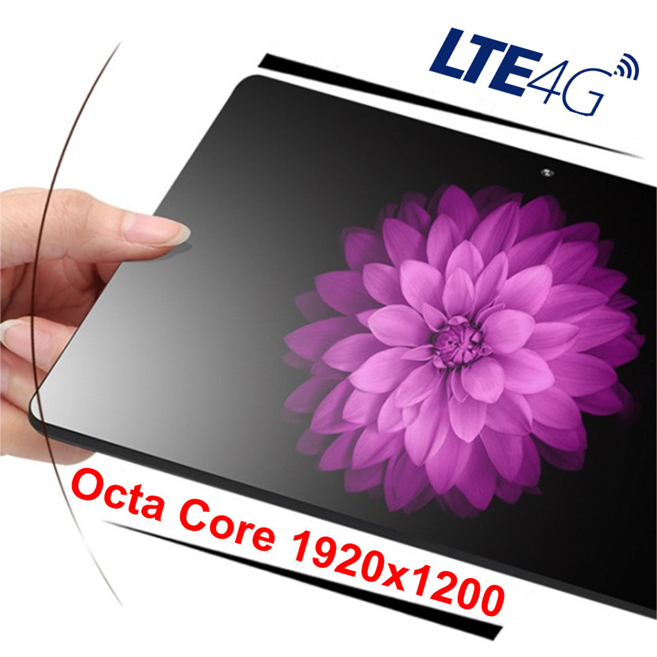 New Designed Android 7.0 10 Inch Tablet Pc MT6753 Octa Core 32/ 64GB IPS Tablets Pcs 5MP Gold,Black 1920x1200 IPS