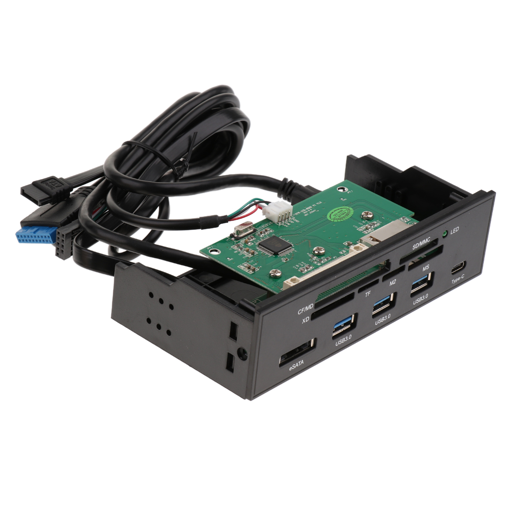 5.25 inch Desktop Optical Drive Front Panel Internal Card Reader Dashboard цена