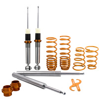 For BMW E30 3 series Touring Coilovers Suspension Lowering Kit for 320i 323i 325i 324D TD Saloon 82 91 Spring|Shock Absorber& Struts|   -