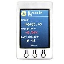 Ttgo t watcher Btc Ticker Esp32 2.2 pouces 320X240 Module daffichage Tft adapté pour Arduino Bitcoin prix programme 4 mo Spi Flash plus récent