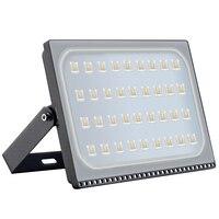 4 pces 200 w suficiente watt luz de inundação ao ar livre spotlight 110 v 220 v à prova dwaterproof água conduziu a luz de inundação lâmpadas holofote ao ar livre iluminação