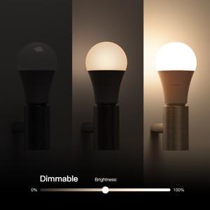 Image 3 - Koogeek Smart Light Dimmable White LED WiFi Light Bulb Smart Home Voice/Remote Control For Alexa/Apple HomeKit/Google Assistant