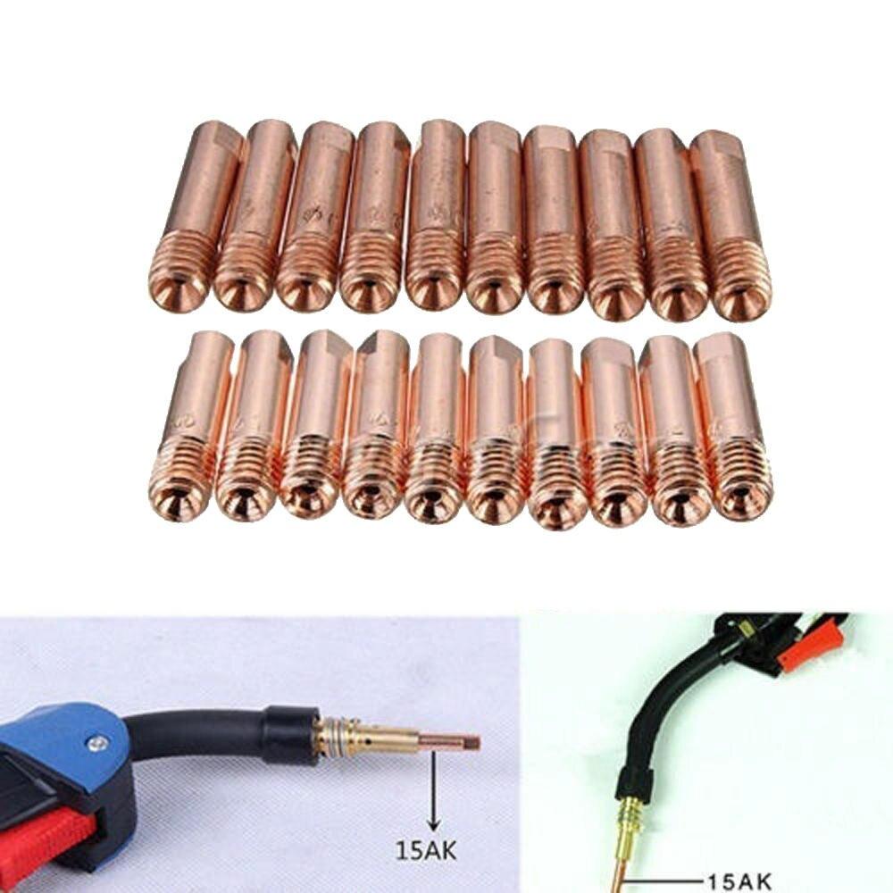 25 nozzles for welding binzel torcha m.6-1,2 mm mig welding made Europe