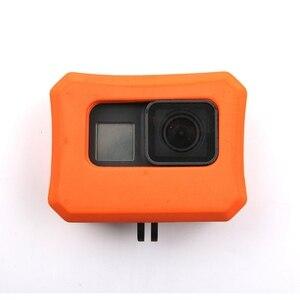 Image 1 - EVA étui de protection pour Gopro Hero 7/6/5 eau flottante Action Sport caméra accessoires flotteur pour nager de haute qualité