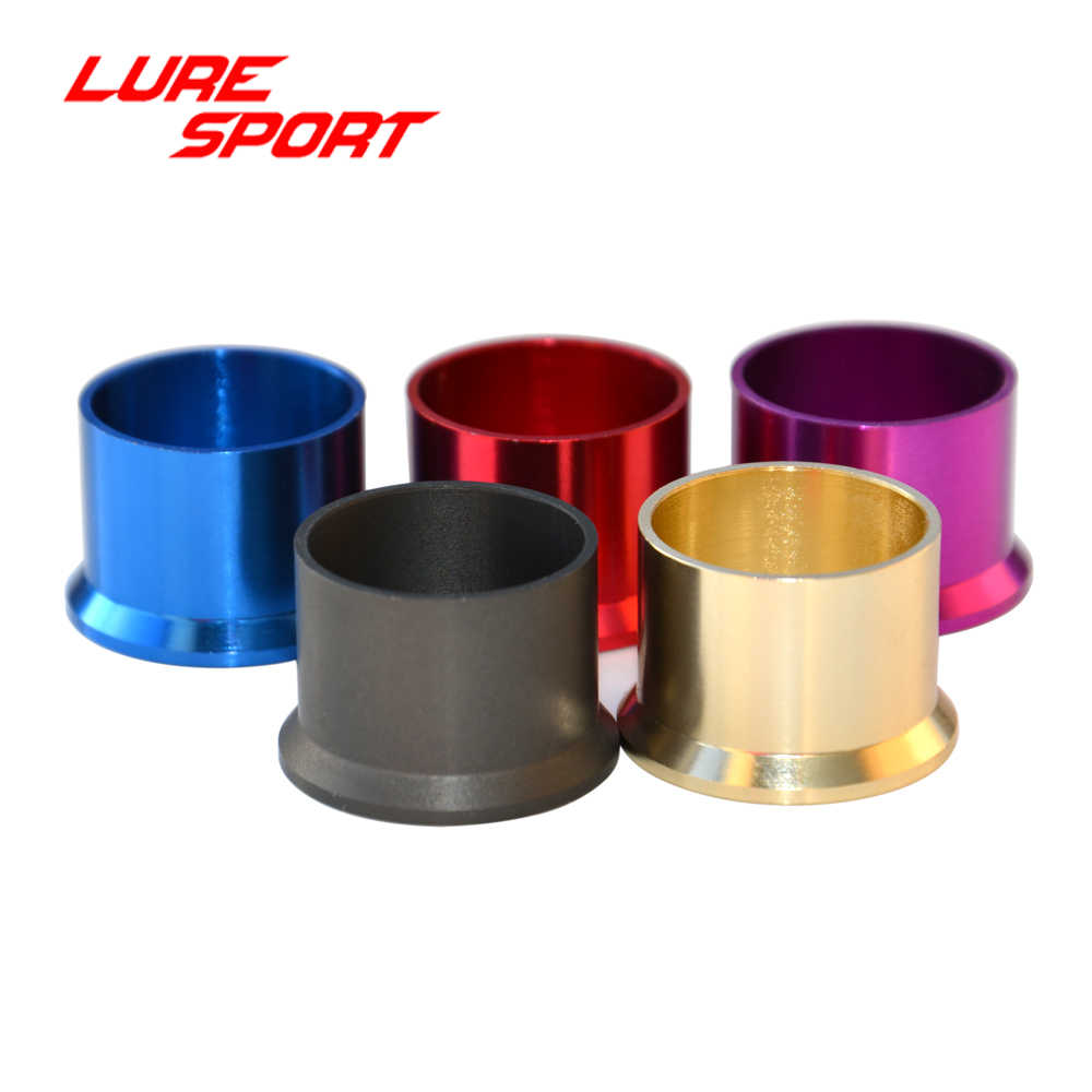 LURESPORT 5pcs Aluminum Space Ring of FUJI Reel Seat wind Check Fishing Rod Building Component Repair rod  DIY Accessory
