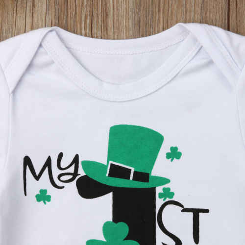 f796e3844032f My 1st St.Patrick's Day Infant Kids Baby Big Brother Little Brother  Bodysuit Tops T-shirt Clothes