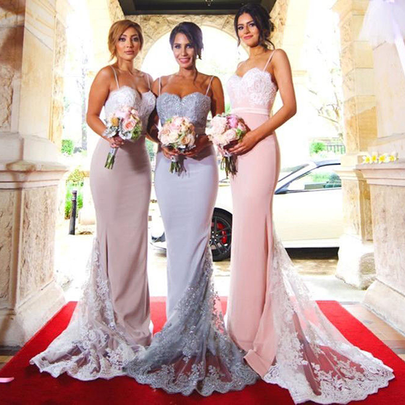 76f3649898488 Women Formal Party Lace Maxi Dress Elegant Sleeveless Ladies Off shoulder  wedding Bridesmaid Bandage bodycon Dress