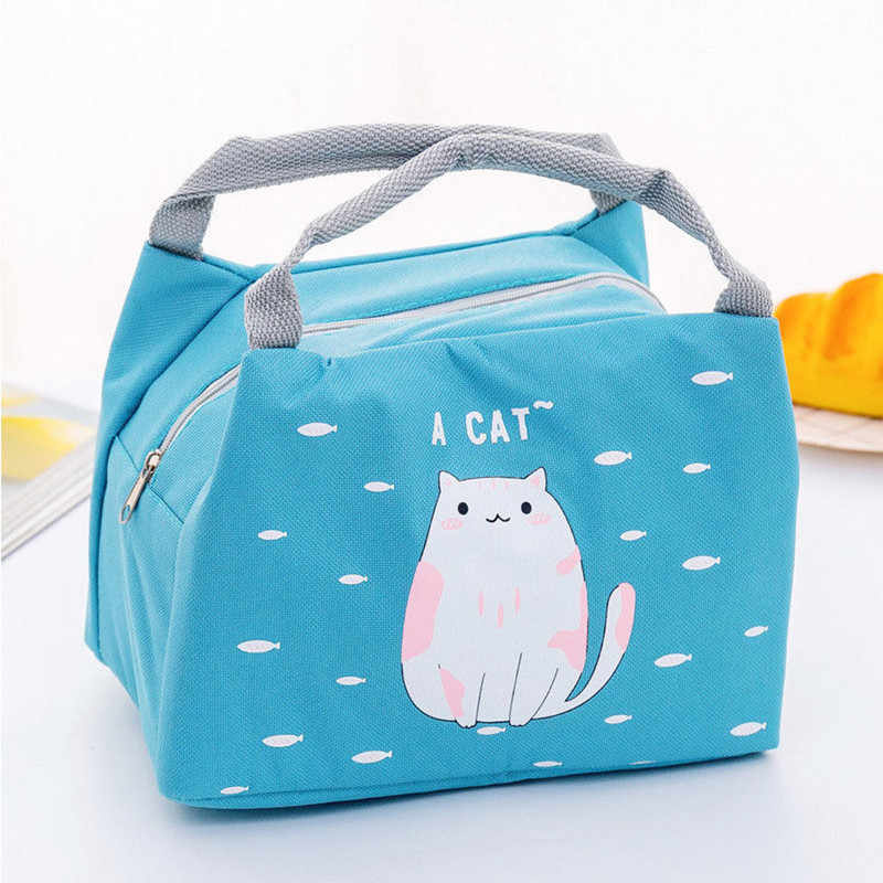 New Women Kids Men Insulated Lunch Camping Bag Tote Oxford Box Bag Thermal Cooler Food Bags High Quality Waterproof