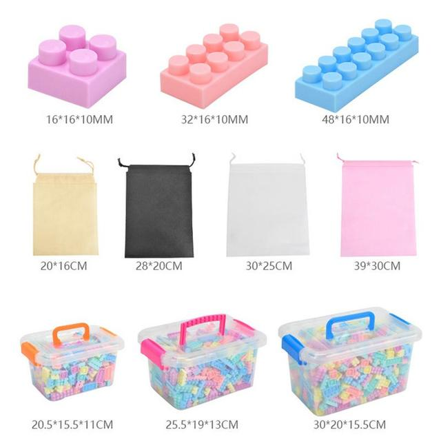 Changeable Building Blocks Toy In Macarons Color DIY Assembly And Insertion Educational Toy For Children Intelligence Exercise
