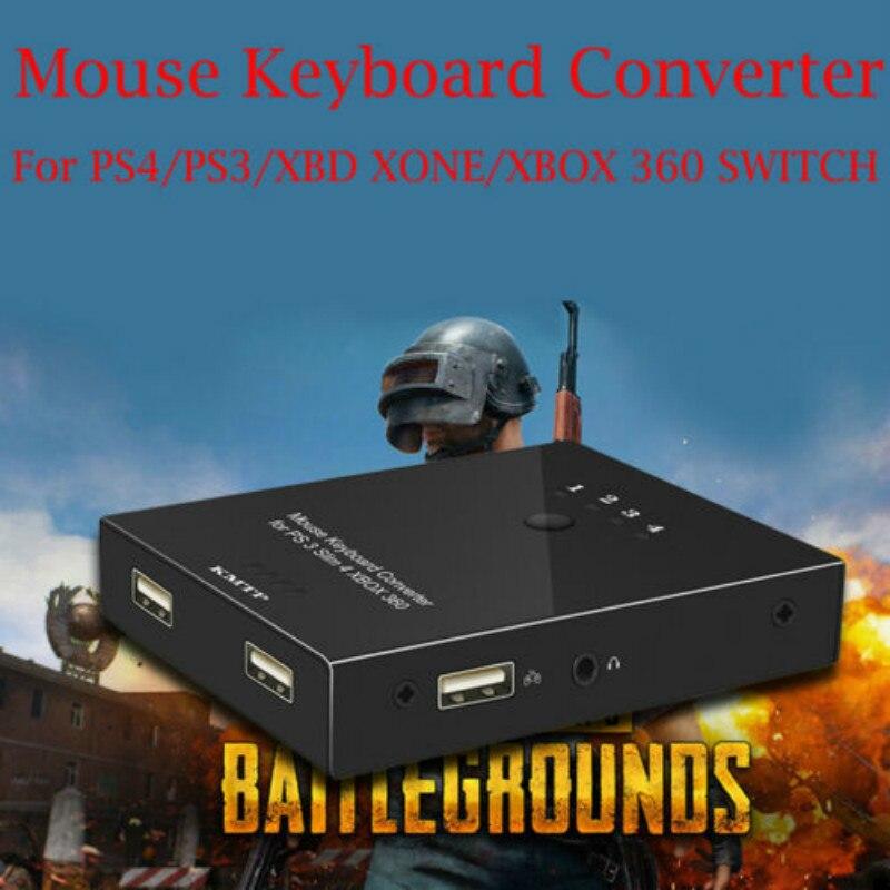 Ratón Y Teclado Convertidor Adaptador Para Ps4/ps3/xbo Xone/xbox 360 Interruptor