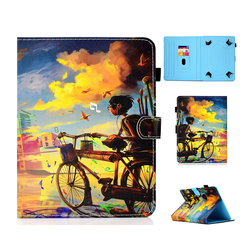 Case Cover For Lenovo Tab 3 7 Essential 7.0 / 710F TB3-710F TB3-710i 710i TB3 710 Tab3 Universal Tablet Case Bracket Leather Cov Price $6.89