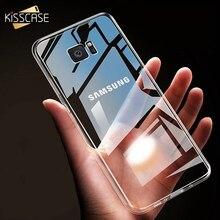 KISSCASE Case For Samsung Galaxy S10 plus S10e A3 A5 A7 2016 2017 Clear Soft TPU Phone S8 S9 Note 8 S6 S7 Edge