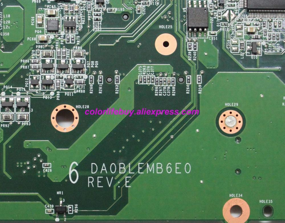 Image 3 - Genuine A000080750 DA0BLEMB6E0 w E350 CPU Laptop Motherboard Mainboard for Toshiba L750 L750D L755 Notebook PC-in Laptop Motherboard from Computer & Office