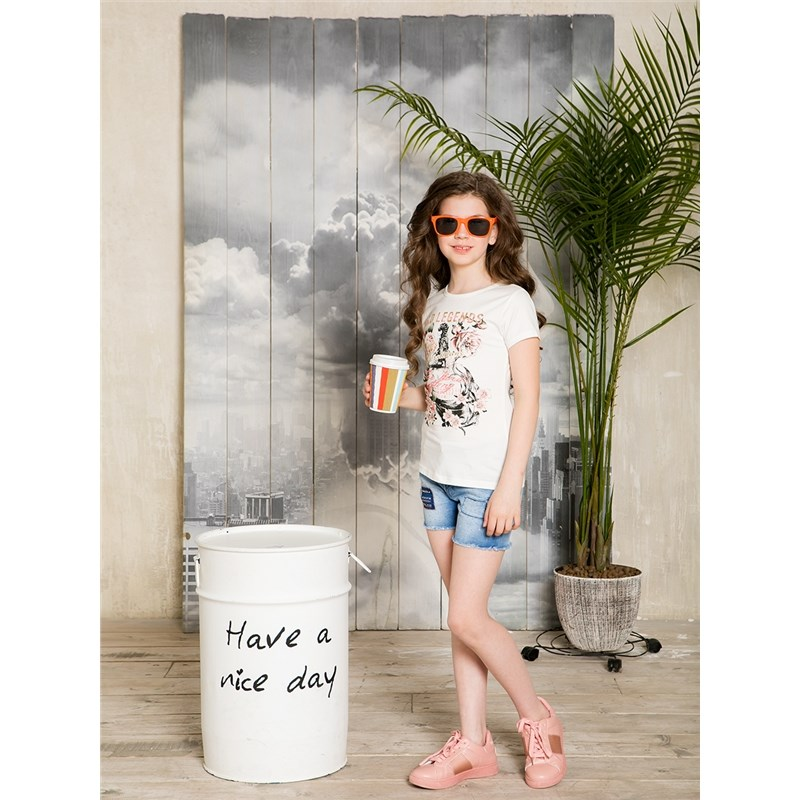 [Available with 10.11] denim shorts for girls rolled cuffed denim shorts