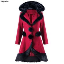 2018 New Fashion Women Warm Slim Coat Jacket Thick Parka Overcoat Long Winter Outwear Laipelar