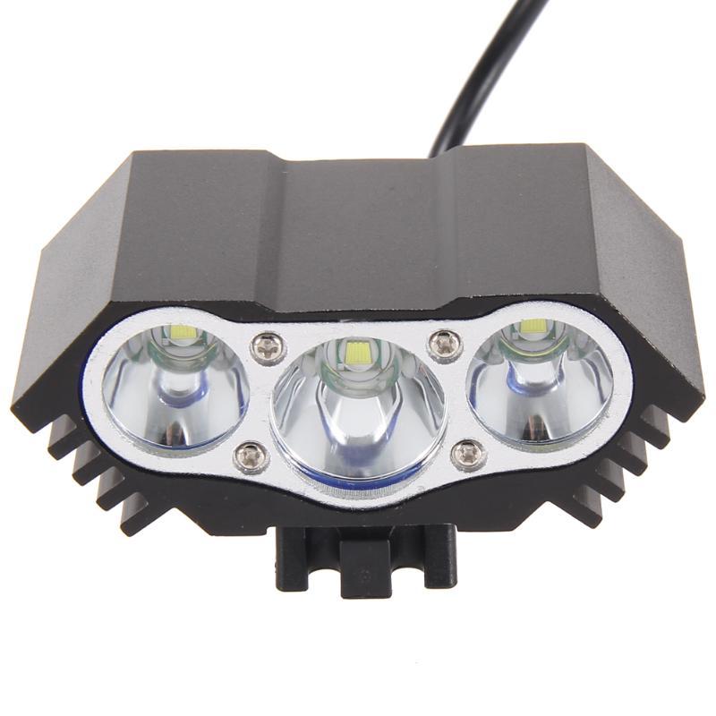 7500LM 3x CREE XML T6 LED Bike Headlight HeadLamp + 18650 Battery + Charger