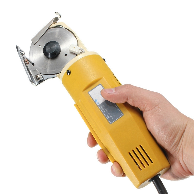 70mm 170W Electric Scissors 220V/110V Shears Cloth Cutter Fabric Cutting Machine Kit Cutting Tools For Clothes Leather Fabric