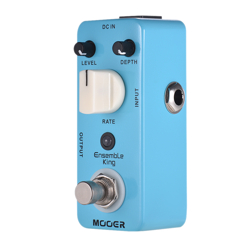 MOOER Ensemble King Analog Chorus Guitar Effect Pedal True Bypass Full Metal Shell Guitar Parts & AccessoriesMOOER Ensemble King Analog Chorus Guitar Effect Pedal True Bypass Full Metal Shell Guitar Parts & Accessories