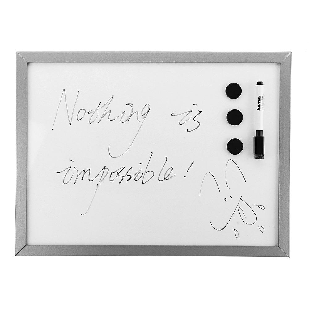 35 X 40cm Magnetic Writing Drawing Board Whiteboard WIth Writing Pen For Office School Students Gift