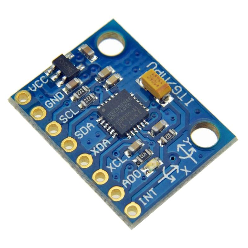 10x For Arduino GY-521 MPU-6050 Module 3 Axis Analog Gyro Sensors 3 Axis Accelerometer Module10x For Arduino GY-521 MPU-6050 Module 3 Axis Analog Gyro Sensors 3 Axis Accelerometer Module