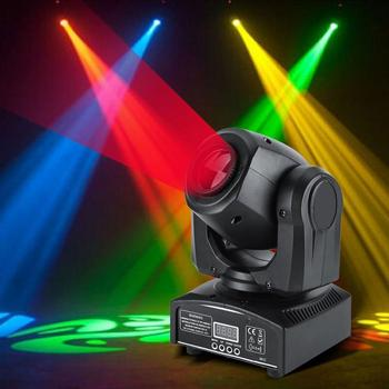 LED Moving Head Stage Light 30W DMX512 Disco DJ Light Pub Party Effect Lights EU Plug 220 240V