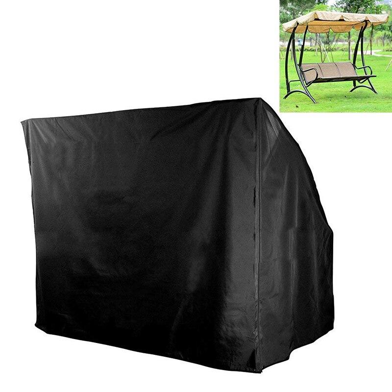 Patio extérieur 3 trois places hamac balançoire planeur auvent couverture Durable imperméable résistant aux UV meubles protecteur MK001