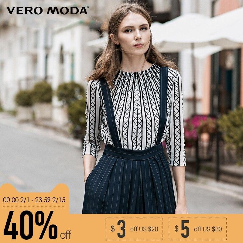 Vero Moda бренд блёстки fit версия три четверти рукав Тренч женщина | 315330003