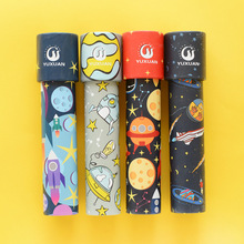 1pcs Early Educational Rotating Cartoon Colorful Children Toy Planet Forest  Ocean Sensory Changable Classic Kids Fancy