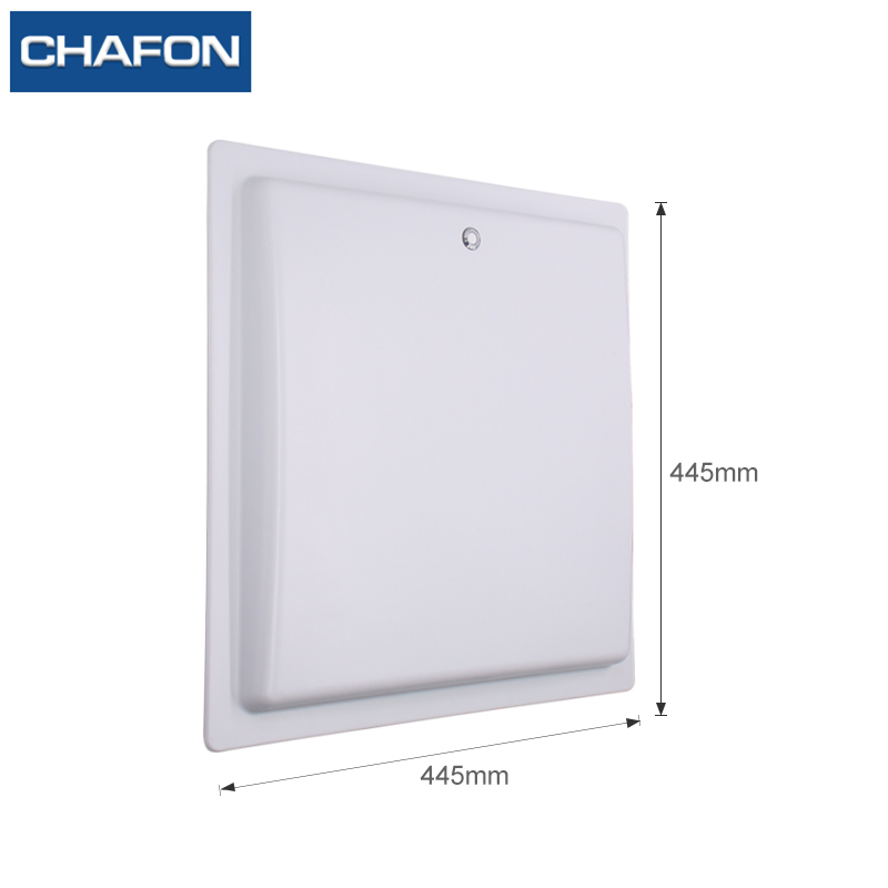 CHAFON 15M long range uhf rfid reader USB RS232 WG26 RELAY with built-in 12dbi linear antenna free SDK for car parking