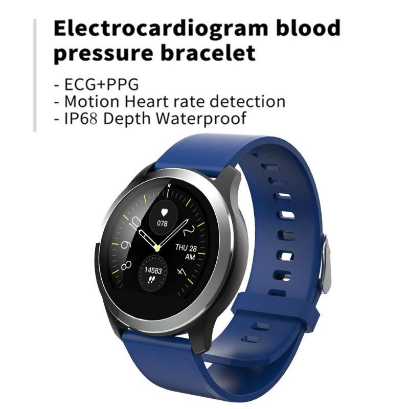 Z03 IP68 Waterproof EEG Blood Pressure Heart Rate Monitor Sport Smart Watch  Touch Screen Intelligent ECG Watch for the ElderlyZ03 IP68 Waterproof EEG Blood Pressure Heart Rate Monitor Sport Smart Watch  Touch Screen Intelligent ECG Watch for the Elderly