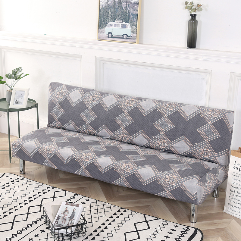Terrific Us 4 81 44 Off Folding Sofa Bed Cover Sofa Covers Spandex Stretch Elastic Material Double Seat Cover Slipcovers For Living Room Geometric Print In Squirreltailoven Fun Painted Chair Ideas Images Squirreltailovenorg