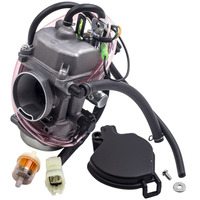Carburetor Plug for Kawasaki PRAIRIE 300 KVF300 KVF300B 99 02 Inline Fuel Filter