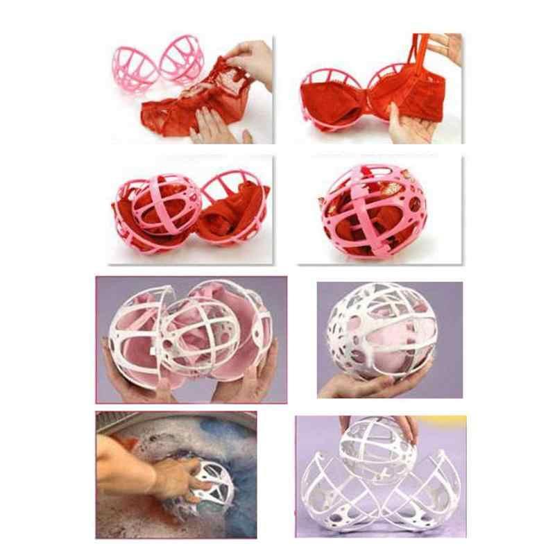 Yeni Pratik Sütyen Çamaşır Topu Sütyen Çamaşır Yıkama Topu Kabarcık Sutyen Koruyan Çamaşır Yardım Topu çamaşır topu C BHU2